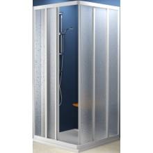 Zástěna sprchová dveře Ravak sklo ASRV3-90 90x1880 bílá/transparent