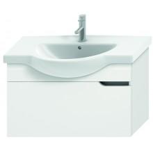 JIKA MIO umyvadlová skříňka pro nábytkové umyvadlo 810x340mm 1 zásuvka, bílá/bílá