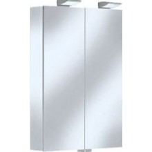 KEUCO ROYAL 35 zrcadlová skříňka 600x840mm, s osvětlením, stříbrná