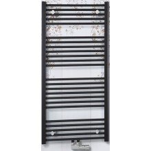 CONCEPT 100 KTKM radiátor koupelnový 953W rovný se středovým připojením, bílá KTK15000750M10