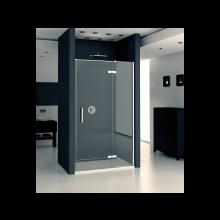 SANSWISS PUR sprchové dveře 1200x2000mm, do niky, jednokřídlé, pravé, chrom/čirá