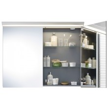 DURAVIT DARLING NEW zrcadlová skříňka 1000x270mm bílá matná/bílá matná DN753701818
