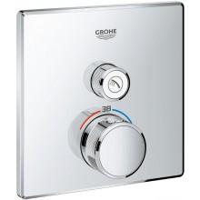 GROHE GROHTHERM SMARTCONTROL sprchová baterie 158mm, podomítková, termostatická, s jedním ventilem, chrom