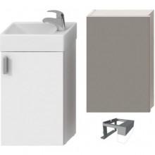 Nábytek skříňka s umývátkem Jika Petit se zrcadlem a osvětlením 40 cm bílá