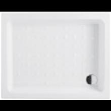 JIKA RAVENNA keramická sprchová vanička 720x900x110mm obdélníková, bílá