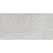 REFIN ARTE PURA dekor 37,5x75cm rilievi bianco
