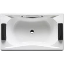 Vana plastová Roca - Becool Biplaza s podhlavníky a madlem 190x110 cm bílá