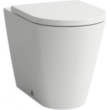 LAUFEN KARTELL BY LAUFEN stojící klozet 560x370x430mm s hlubokým splachováním, VARIO odpad, bílá