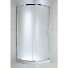 JIKA CUBITO PURE sprchový kout čtvrtkruh 1000x1000x1950mm s posuvnými dveřmi, chrom/arctic sklo