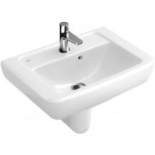 Umývátko klasické Villeroy & Boch s otvorem Verity Design 450x350mm Bílá Alpin Ceramicplus