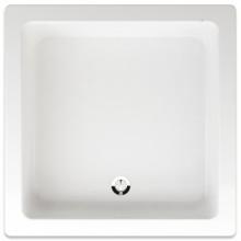 TEIKO JUNO sprchová vanička 80x80x15cm, čtverec, akrylát, bílá