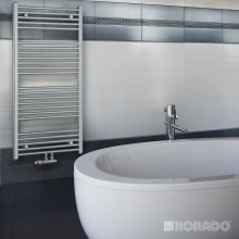 Radiátor koupelnový Korado 750/900 Koralux Linear Exclusive - M  chrom