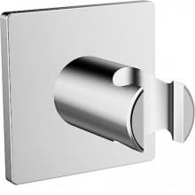 HANSA DESIGNO nástěnný držák sprchy 75x75mm, chrom