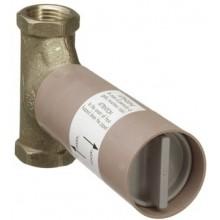 HANSGROHE základní těleso 130 l/min pro uzavírací ventil s vřetenem podomítkový DN20 15970180