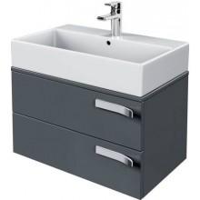 Nábytek skříňka pod umyvadlo Ideal Standard Strada 70x42x42 cm lesklý lak šedý