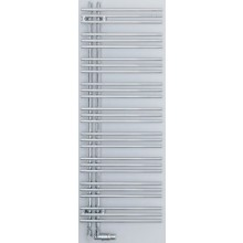 ZEHNDER YUCCA ASYM radiátor koupelnový 478x1012mm, jednořadý, elektrický, levý, chrom