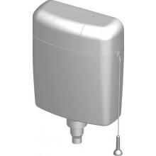 SLOVPLAST MYJAVA nádržkový splachovač 340x405mm, dvojčinné splachování, bílá