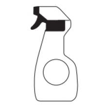 Příslušenství ke sprchovým koutům Huppe - TOP PLUS šetrný čistič pro Anti-Plaque a chromové povrchy 500ml