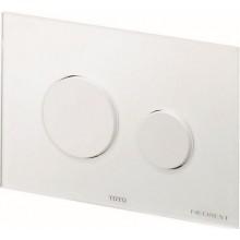 TOTO NEOREST/SE ovládací tlačítko 220x150mm sklo/bílá, E00003