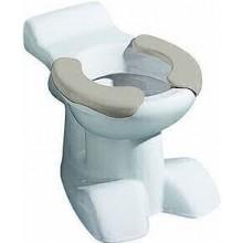 KERAMAG KIND dětský klozet 35x50cm, stojící, odpad vodorovný, s hlubokým splachováním, 6l, sedací plocha, bílá/šedá/Keratect 212015600