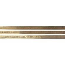 VERSACE GOLD listela 1x20cm, mosaz