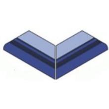 VILLEROY & BOCH PRO ARCHITECTURA POLL SYSTEM dlažba 10x10cm, vnější, roh, light aquamarine/dark blue