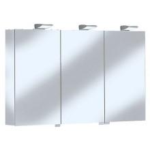 Nábytek zrcadlová skříňka Keuco Royal 35 13504171301 130x74x15cm stř. elox/bílá matná
