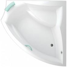 TEIKO AURIGA P vana 150x105x45cm, rohová, akrylát, bílá