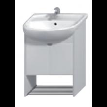 JIKA LYRA PLUS skříňka pod umyvadlo 500x315x680mm, bílá/bílý lesklý lak