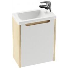 Nábytek skříňka pod umyvadlo Ravak SD Classic 400 40x22x50cm espresso/bílá