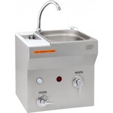 AZP BRNO AUM 07S.2 umyvadlo 380x540mm, se sterilizátorem, závěsné, nerez