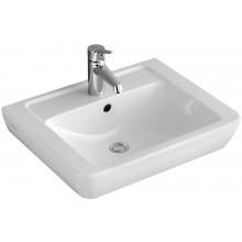 Umyvadlo klasické Villeroy & Boch s otvorem Verity Design 550x430mm Bílá Alpin Ceramicplus