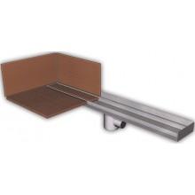 AZP BRNO PZ 014LP.900 podlahový žlab 900mm, pro vložení kachliček, nerez ocel