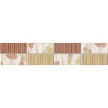 RAKO SAMBA reliéfní listela 5,2x25cm, béžovocihlová
