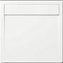 KALDEWEI LADOPLAN 762-1 sprchová vanička 900x900x35mm, ocelová, čtvercová, bílá, Perl Effekt, celoplošný Antislip 462030023001