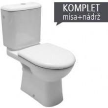 DEEP BY JIKA kombinované WC, boční napouštění, bílá