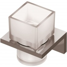 IDEAL STANDARD STRADA kelímek na zubní kartáček 99x109mm chrom/sklo A9197AA