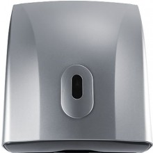 NIMCO zásobník 255x310mm, na papírové skládané ručníky, stříbrná metalická