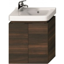 JIKA CUBITO-N skříňka pod umývátko 440x241x480mm, s 2 dveřmi, tmavá borovice
