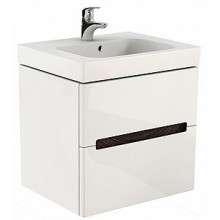 Nábytek skříňka pod umyvadlo Kolo Modo 79x48x55 cm lesklá bílá