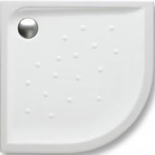 ROCA MALTA keramická sprchová vanička 900x900x45mm čtvrtkruhová, radius R505 mm, bílá 7373507000