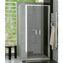 Zástěna sprchová dveře Ronal sklo TOP-line 1000x1900 mm matný elox/čiré AQ