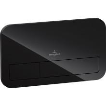 VILLEROY & BOCH VICONNECT L200 ovládací tlačítko 269x13x161mm, s diodovým svítidlem, Glossy Black