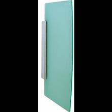 GEBERIT dělící stěna pro pisoáry 49,6x4x80cm, hranatá, zelená