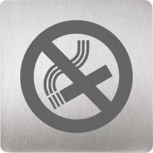 SANELA SLZN44F piktogram zákaz kouření 120x120mm, nerez mat