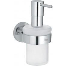 GROHE ESSENTIALS dávkovač tekutého mýdla 157mm chrom/sklo 40373000