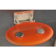 RAVAK OVO P sedátko do sprchového koutu 410x350x130mm plastové, oranžové B8F0000005