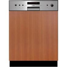 MORA VM 633 X vestavná myčka 598x550x815mm s panelem, nerez