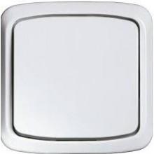 TECE zvonkový vypínač 81x81mm, pro splachování toalet, bílá