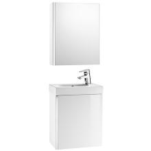 ROCA MINI nábytková sestava 450mm, skříňka s umyvadlem a zrcadlovou skříňkou, bílá